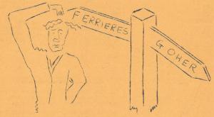 villages signpost