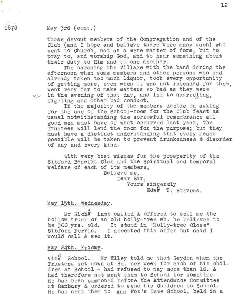 A screenshot of text